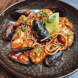 Spaghetti de Marisco