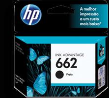 Hp Cartucho de Tinta Para Impresora 662 Negro