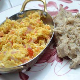 Huevos Pericos con Cayeye
