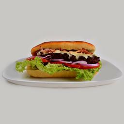 Focaccia hamburguesa