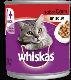 Lata Carne Whiskas