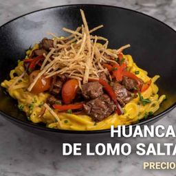 Huancaina de lomo