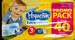 Pañales Pequeñin Extraproteccion Etapa 3 x 40 Und Promopack