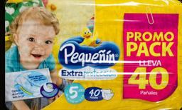 Pañales Pequeñin Extraproteccion Etapa 5 x 40 und