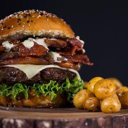 Combo Hamburguesa de Carne de Res