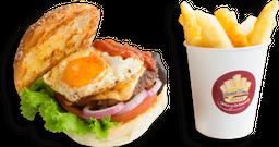 Burger La Candelaria Bogotana