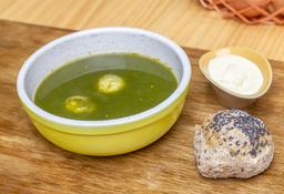 Sopa de Espinaca  🍵
