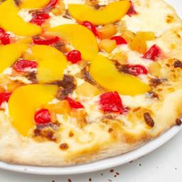 Pizza grande tropical