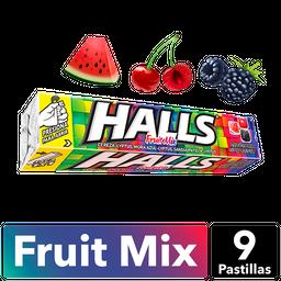Halls Tubo 12S Fruit Mix 252 Gr