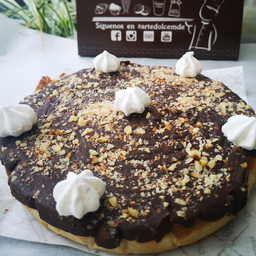 Tarta Ganasce Chocolate y Nueces