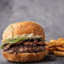 Burger Bacon Philadelphia