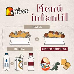 Menú Infantil | Combinados