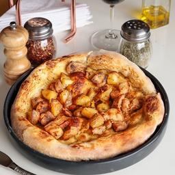 Pizza con postre