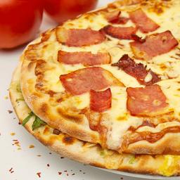 Pizza personal burguer