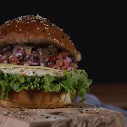 Hamburguesa de tilapia
