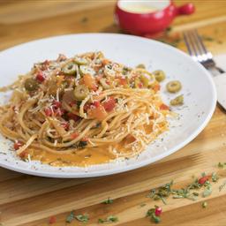 Spaghettis A La Puttanesca.