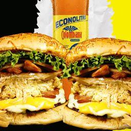 Combo burger carnivora