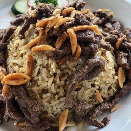 Arroz Arabe de Carne