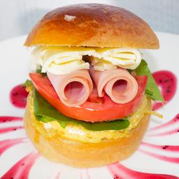 Hamburguesa  de Huevo Brioche