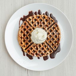 Promoción 2 Waffle de Chocolate