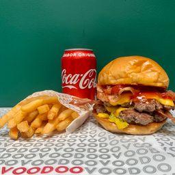 Combo Double Bacon Double Cheeseburger