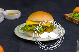 🍔Hamburguesa Pollo con Queso