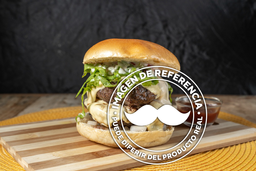Hamburguesa con Doble Carne con Chilli