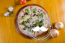 Pizza Vegetariana Albahaca Pequeña