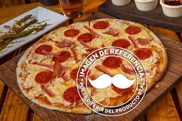 Pizza Jamón Peperoni