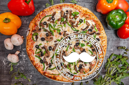 Pizza Vegetariana - Mediana