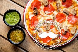 Pizza Salami Champiñones