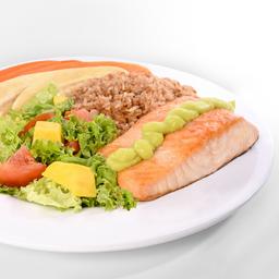Filete de Salmón con Salsa