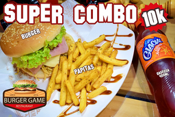 Super Combo Burger Game
