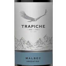 Vino Media Botella Trapiche Malbec 375ml