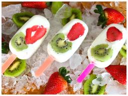 Lollie Yogurt Light Fresas Kiwi