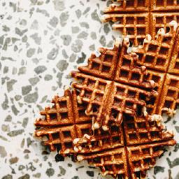 Waffles de almendras x6
