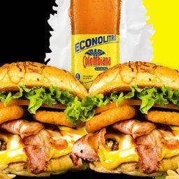 Combo burger clásica