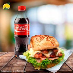 Sándwich Ranchero + Coca Cola