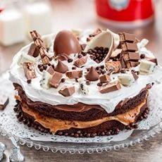 Torta Chocolate Kinder