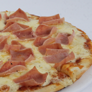 Pizza de Jamón y Queso Personal
