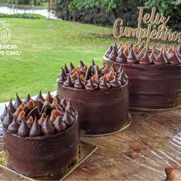 Torta de Chocolate Sin Azúcar Añadida