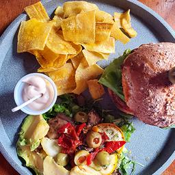 Veggie Burger at Home