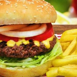 Combo hamburguesa de la casa