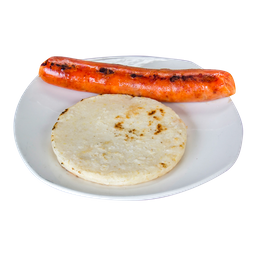 Arepa con Chorizo