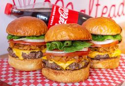 Combo Tres Burger Piña