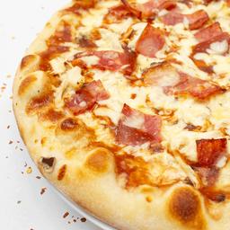 Pizza mediana carbonara