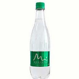 Agua con gas manantial 600 ml botella