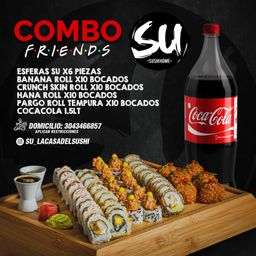 Combo Friends (4-5 personas)