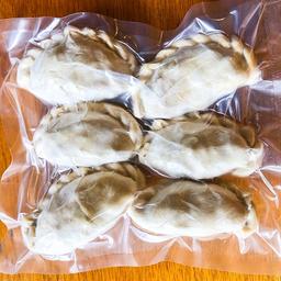 Empanadas congeladas de carne picada a cuchillo