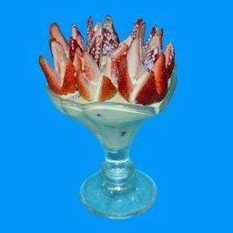 Fresas con Crema Pequeñas